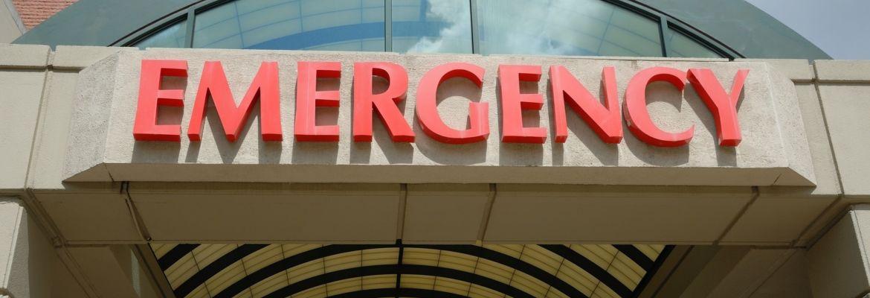 Bigstock Emergency Entrance Sign 7810708