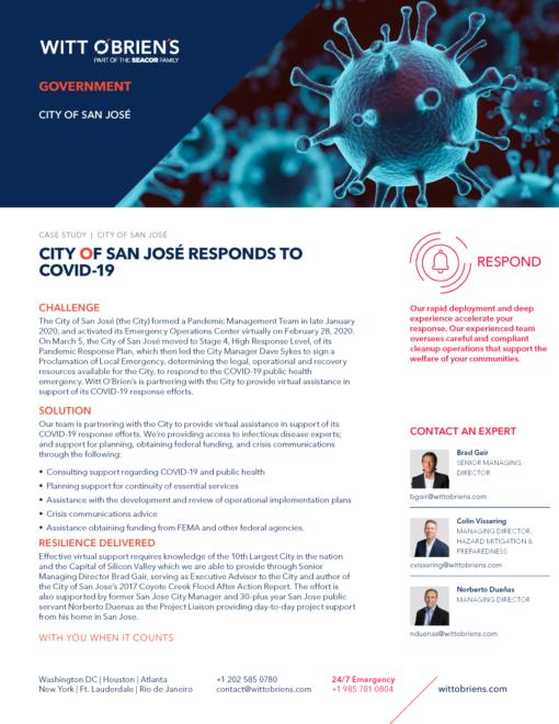 Case Study San Jose COVID 19 Response v3